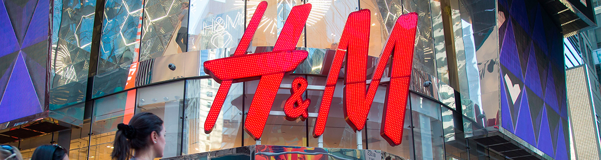 H&M reports first-quarter loss, sales surge