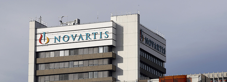 Novartis profit falls due to stockpiling