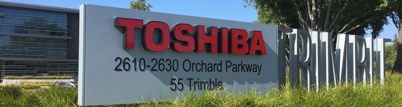 Toshiba discusses acquisition bid