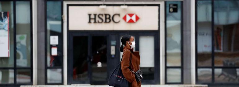 HSBC stocks down as US targets Hong Kong currency peg